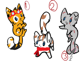 Cheap Kitty  Adoptables 1 [OPEN] by Adopt--Me