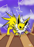 Jolteon Request by SolbiiMelody