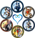 KH Series Stained Glass by Maleficent84