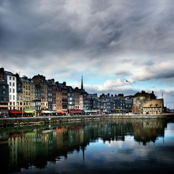 evening at Honfleur.... by VaggelisFragiadakis