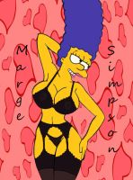 Marge In Black by Comon99
