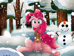 There's Snow in my Nose... It Tickles! by Vocalmaker