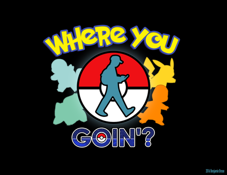 Pokemon GO by benners2004
