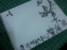 From the Doodles they came by Burento-ambasu