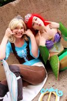 Silly Princesses by EvieE-Cosplay