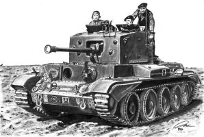British Cromwell Tank by DeoKristady