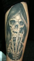 Grim Reaper on calf by UptownPete