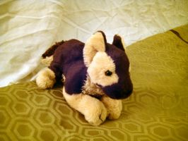 Small German Shepherd Plush by AlixRae