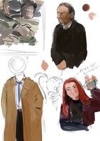 spn doodles by X3carlyX3