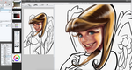 Angel Pinup - in Manga Studio by CrisDelaraArt