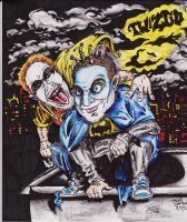 Twiztid Batman by pyroxide