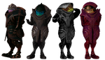 Female Krogans for XPS by Just-Jasper