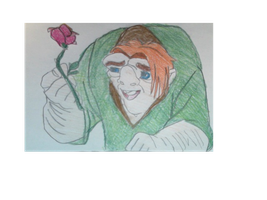 A Rose From Quasi To SugarSong77 by FireNationPhoenix