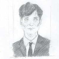 Cillian Murphy sketch by tsunadeboo22