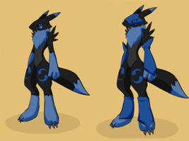 Avomon Ref (OC and pic by someoneelsek2) by LightsShadow03