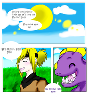 Duality 00: pg. 1 by ChaChaFox