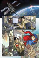 Superman page final by Elforim
