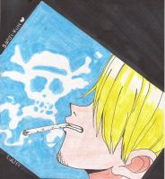 One piece - Wanted - Sanji by kitty-moonlight