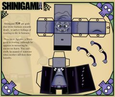 Shinigami Paper Toy by Gblasiman1