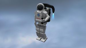 Upgraded Asimo by 100SeedlessPenguins