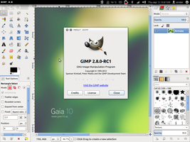 Gimp 2.8 RC1 by strycore