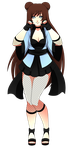 Naruto girl adoptable - teahouse by Puritsu