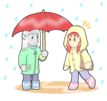 Rainyday by LaqueusAxolotl