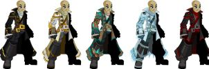 All Naval Commanders by XionicDXelt