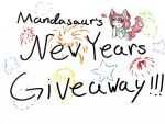 New Year's Giveaway by Mandasaurkitty