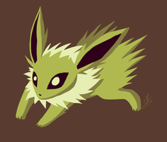 Jolteon - Palette 11 - Challenge by issabissabel