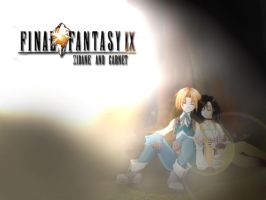 FFIX: Zidane and Garnet by MikoNoYume