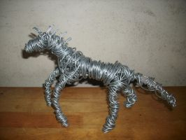Wire Horse 1 by CreepOfFear