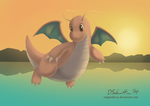 149 Dragonite by EnigmaBerry