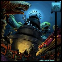 SPOIL - Impel Down - Undersea by Gandaresh