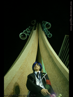 Persona 3 - Tartarus Looming by Gwiffen