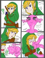 Link Gets Slimed by Musicmaster1216