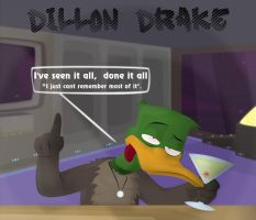 Dillon Drake by dizzyfeathers