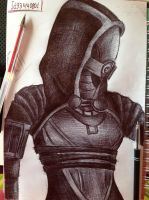 Tali Pen Drawing by Sofika0707