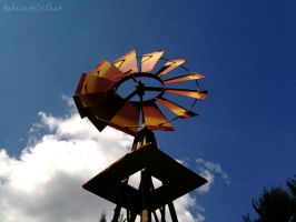 Windmill I by AntoinetteLeChat