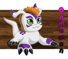 Gomamon by chicajamonXD