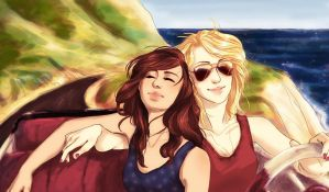 Faberry Road Trip by TrappedinVacancy