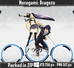Noragami Aragoto Anime Icon by PrimaRoxas
