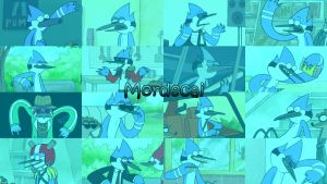 Mordecai Wallpaper V2 by WolfieDrake