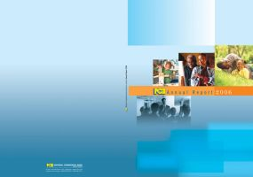 NCB Annual Report Cover by innografiks