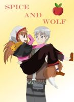 Horo and Lawrence by mycameraghaa