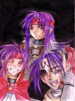 3 Shades of Chrno by Koutetsu