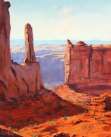 Canyon View by artsaus
