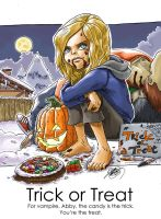 Abby, Trick or Treat by dchan316