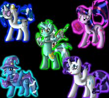 Unicorns of SFxMLP by CrossoverGamer