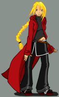 FMA character by invader-gir